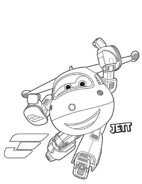 Disegni da colorare dei super wings jett 3 for Disegni da colorare super wings
